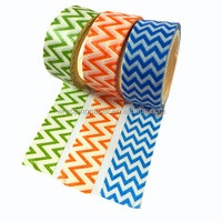 Custom Printed Washy tape colorful adhesive tape for gift wrapping