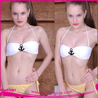 Wholesale Comfortable Latex Swimsuit/Latex Bikini Swimwear