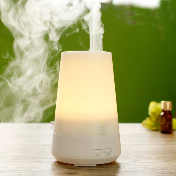 Full Color LED Light Portable Industrial Air aroma oil Humidifier for sweden market with auto shut-off founction