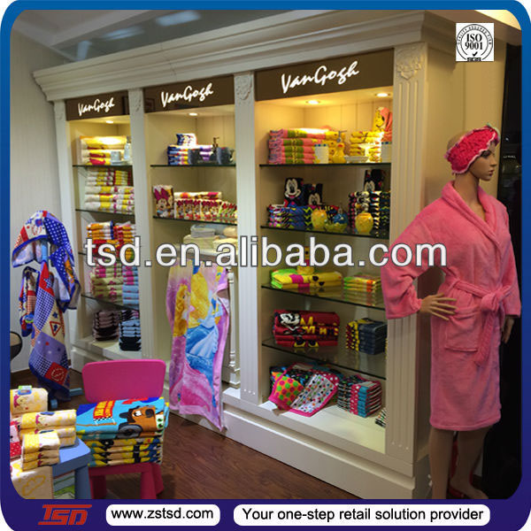 TSD-S049 Custom retail garment shop interior design,furniture for clothing store, clothing display cabinet