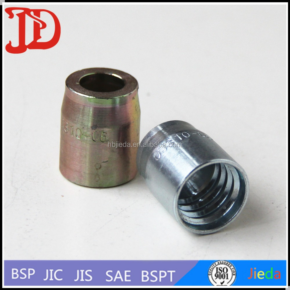 Carbon steel internal pipe sleeves stainless insert