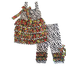 custom clothing manufacturers zebra-stripe spring outfits china imports clothing childrens boutique clothing