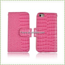 Ysure Croco Flip Collection Cover Synthetic Leather Case for Apple iPhone 5C