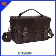 Classic Vintage Outdoor Shoulder DSLR Leather Camera Bag