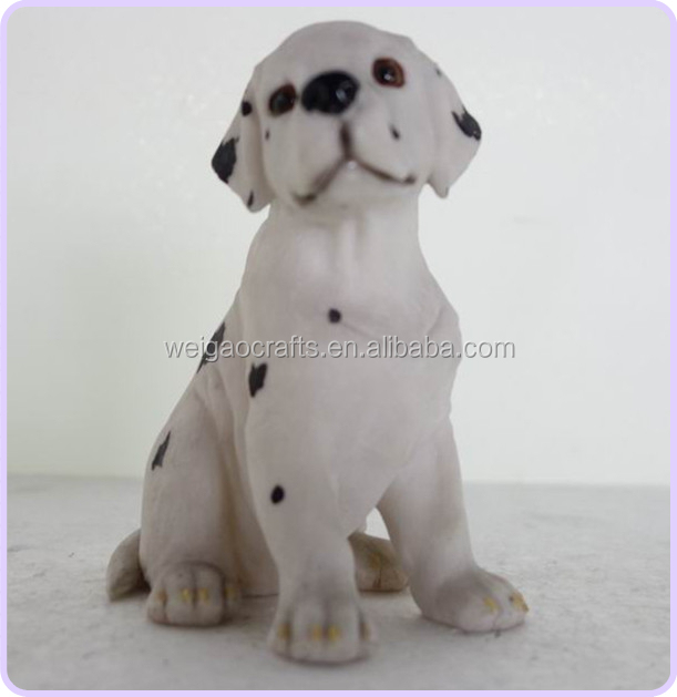 Handicraft Resin Dog, Resin Dog Item, Resin Dog Home Decoration