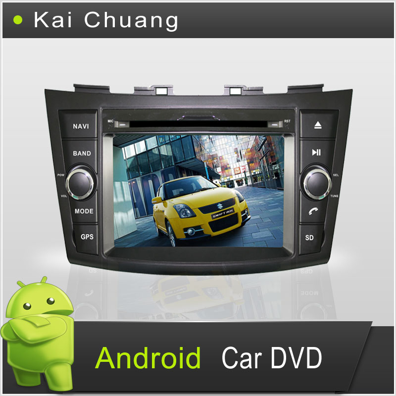 Great Touch Screen Android Car DVD Player for Suzuki Swift 2011