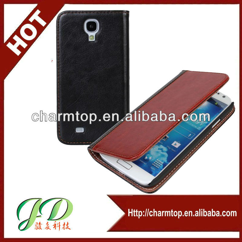 Book Style Galaxy S4 Leather Case