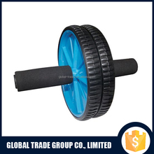 Abdominal Exercise Ab Wheel Roller with Foam Handles Great Grip Double Wheels H0099
