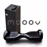 Mooov Black Color Un38.3 certificate 6.5 inch smart self balancing two wheel electric e balance scooter for outdoor
