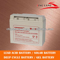 high quality rechargeable battery 12V 17Ah