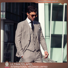 High quality custom tailored used men suits for men italian made in china