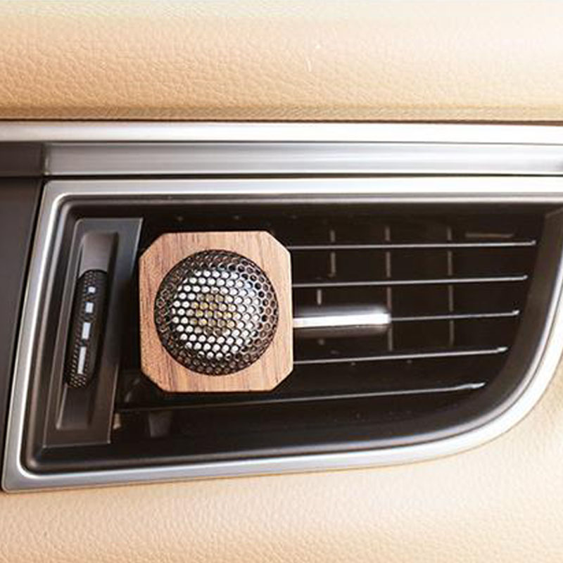 Aromatherapy wooden Car vents Car perfume essential oil air purifier
