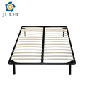 Hot selling metal slatted bed frame for home or hotel