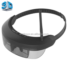 5.8GHz 40CH Wireless FPV Glasses 98 inch Private Virtual Theater Monocular Video Glasses