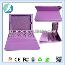 Purple Leather Tablet case for ipad air with bluetooth keyboard