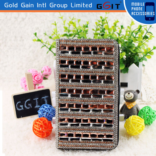 Luxury Fashion Bling Diamond Flip Cover For Samsung For Note 2 N7100