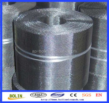 Stainless steel extruder filter ribbon/reversed dutch cloth