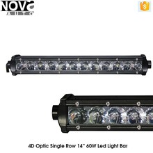Nova 4x4 accessory led offroad light bar 4D Osram 12 volt car led light bar