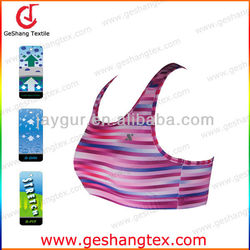 Quick Dry Dri Fit Antimicrobial Digital sublimation sexy sport Bra