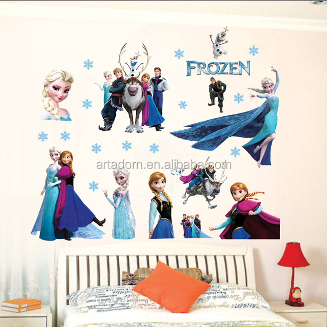 custom vinyl frozen wall stickers buy frozen wall custom name vinyl sticker wall decal 183 the spot 183 online
