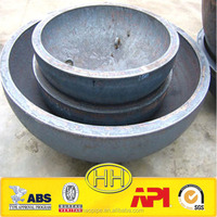 forged seamless hemispherical alloy steel pipe end cap