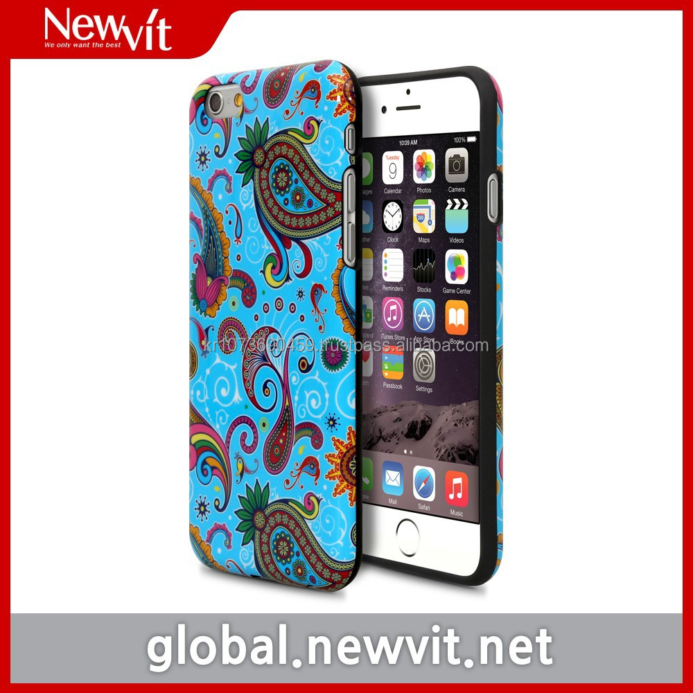 Newvit Design soft cover for iPhone 6 / One body TPU / Easy to access to earphone and any port