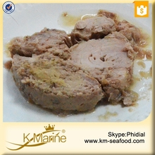 Glass Jar Tuna of Skipjack Steak