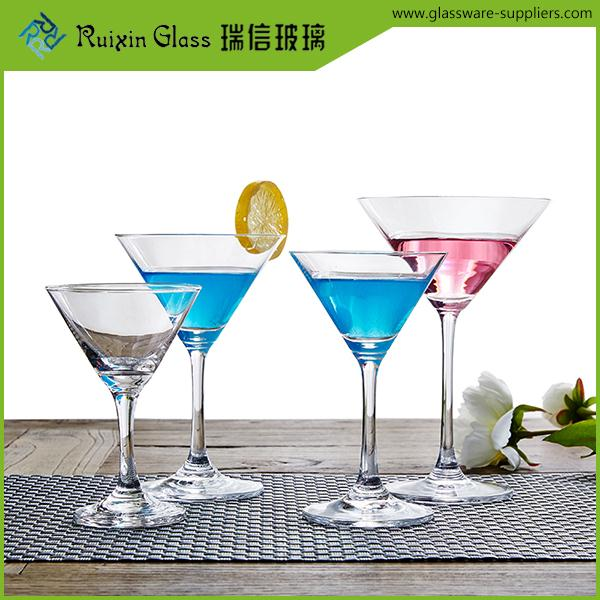 New arrival affordable cocktail martini glass,led blinking cocktail glass supplier