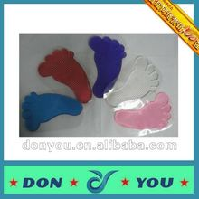 Washable Sticky Mat For Car with PU Material-Feet Shape