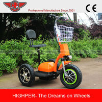 2014 New Model Three-wheel Electric Scooter with CE(HP105E-D)