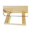 Wholesales wood products handmade sanded adjustable pine wooden book holder