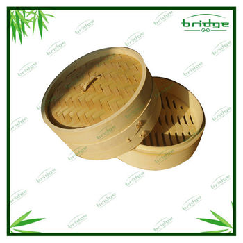 New style bamboo cookware steamer
