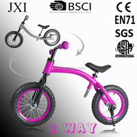 New walking balance bike for child learn how to ride bike