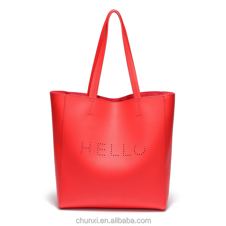 New design fashion women ladies handbag ladies tote bag luxury ladies jing pin leather bags