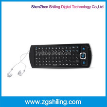TV / Tablet Handheld Air Mouse 2.4Ghz Wireless Keyboard With Infrared