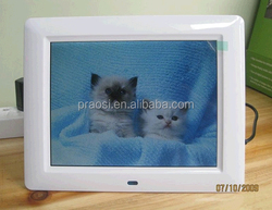2017 New arrival funia photo frame plastic photo frame for promotional