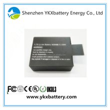 Wholesales Facotory Price Lipo Battery Pouch Size and 3.7V Nominal Voltage polymer lithium ion battery 900mAh with PCM