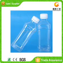 Factory Supply Fancy Sports Items Square Beverage Juice Plastic Bottle