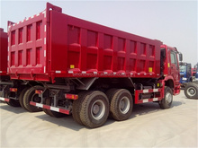 Sinotruck Howo 6X4 340HP LHD 10 wheel 15 ton dump truck low price for sale in Chile