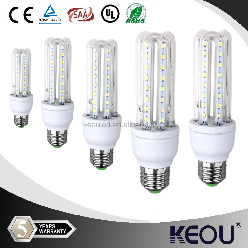 2015 new fashion Energy Saving corn light Aluminum SMD 100lm/w E27 led bulb hot sales in Europe America