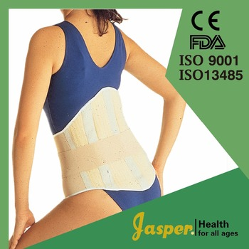 Medical Polyester Back Brace with Magnets for Pain Relief
