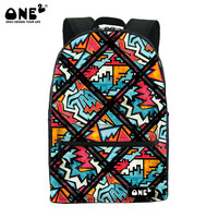 ONE2 Design fashionable polyester beautiful sublimation backpack for children teenager girls