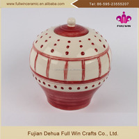 Hot Sale factory manufacture OEM decor large ceramic storage jars