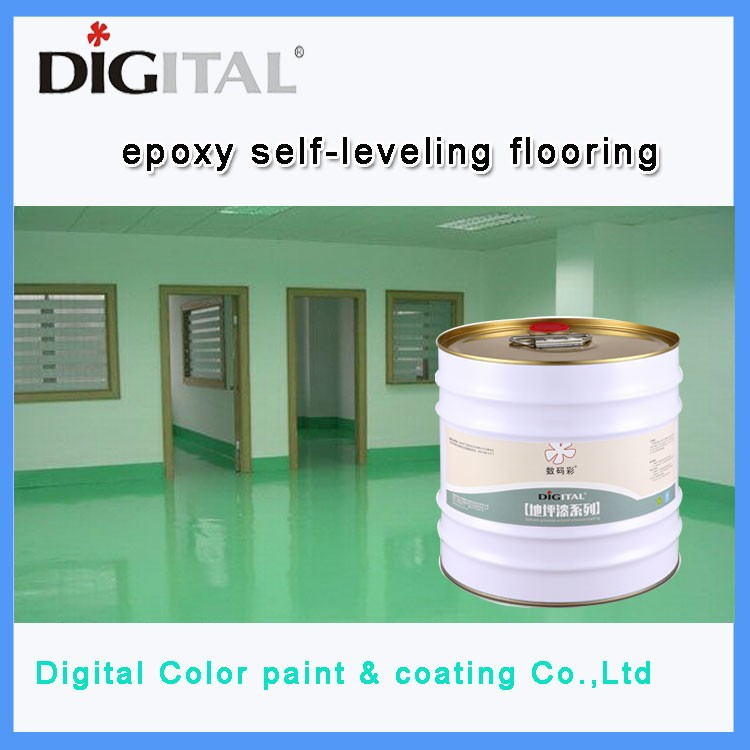 Dustproof wear resistant epoxy covering varnish floor paint
