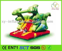 Hot Design backyard Dinosaur Inflatable Slide, Kids Inflatable Item Slide
