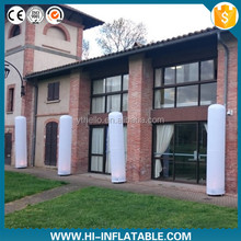 Illuminated led light twinkle column inflatable for wedding event decoration