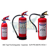 ABC Type Fire Extinguisher - Supremex ( SUP-FFE-ABCFE-1872A-1 )