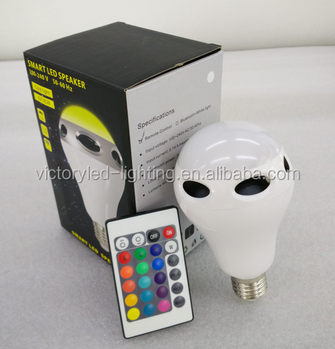 cool white led bulb e27 10w, smart bluetooth speaker led
