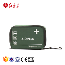 factory direct supplies custom contents private label mini green travel medical kits bags first aid pouch