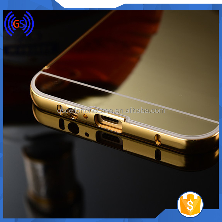 Ultra Thin Chrome Aluminum Metal Case Cover Mirror Surface Hard Gold Case For Samsung Galaxy Note 3